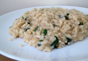 Lemon Basil Risotto