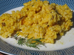 Pumpkin and Porcini Risotto