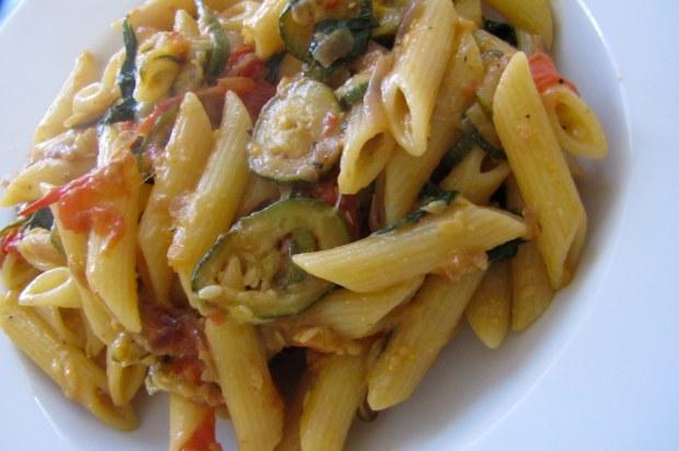 Pasta alle Zucchine 2