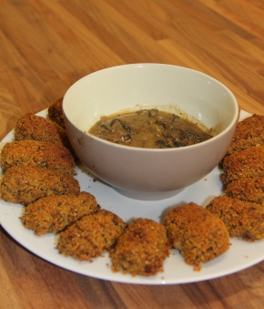 Black Eyed Pea and Quinoa Croquette