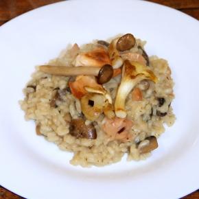 Exotic Mushroom Risotto