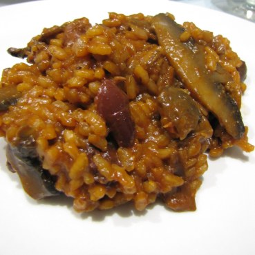Kalamata and Porcini Risotto