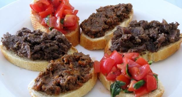 Olive, caper, and tomato crostini 1 copy