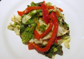 Organic Pepper and Carrot Salad